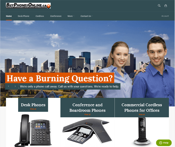 BuyPhonesOnline.ca - Office Phone Store in Canada