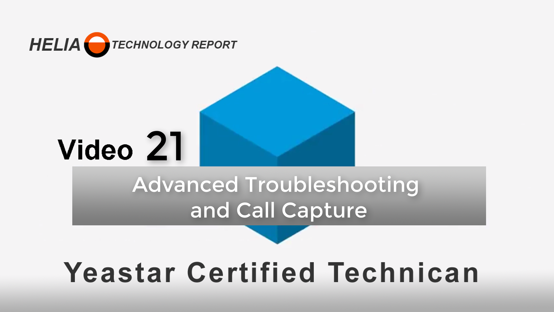 Video 21 - Advanced Call Control and Troubleshooting