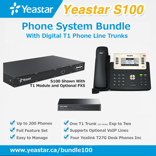 Yeastar Phone System Bundle for Mid-sized Companies