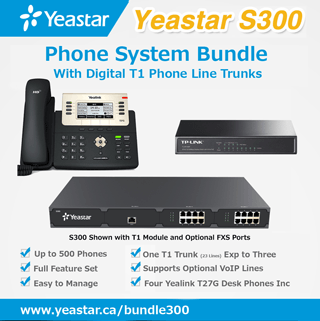 S300 Phone System Enterprise Bundle