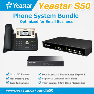 Yeastar S50 Phone System Bundle