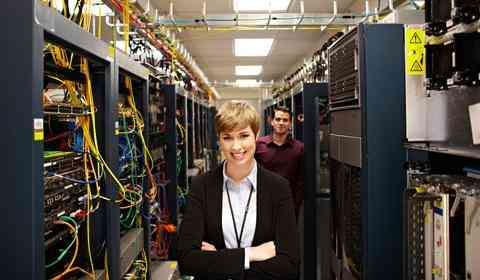 We monitor network infrastructure in the office and data centers.