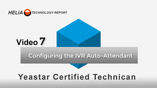 Configuring the IVR Auto Attendant