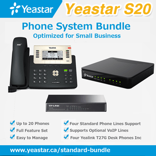 Yeastar S20 Phone System Bundle