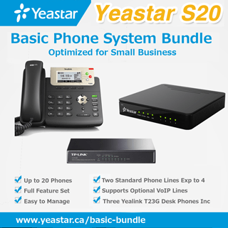 Basic Small Office Phone System Bundle