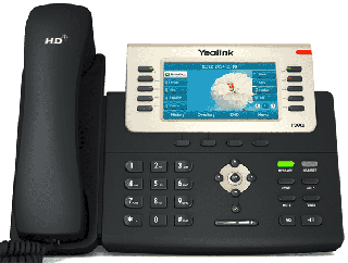 Big and Bright Office Desk Phone - Yealink T29G
