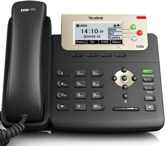 A Good Basic Office Phone - Yealink T23G